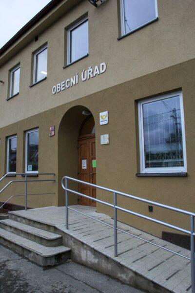 Vchod do Obecního úřadu